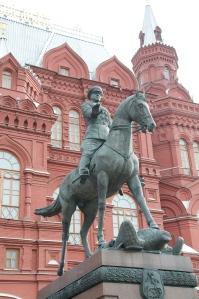 Statue outside Kremlin