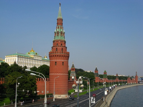 Moscow Kremlin Wall by clurross